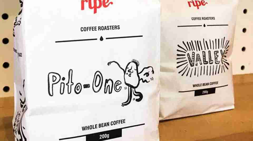ripe coffee pito one and valley blends