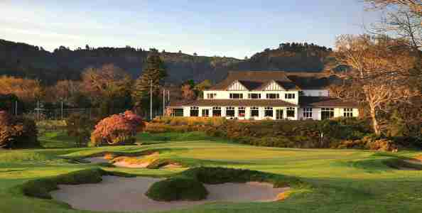 royal wellington golf club view from fairway to clubhouse