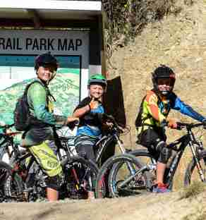 waiu park wainuiomata mountain bike park young riders