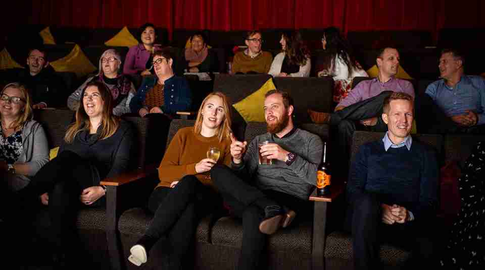 People in cinema at Light House Cinema